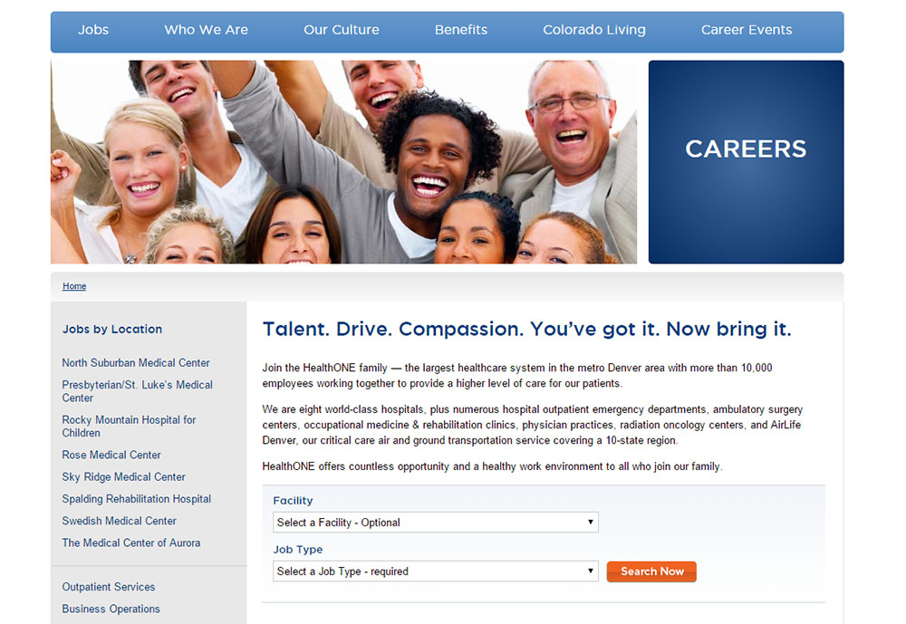 integrate a mobile-optimized career site