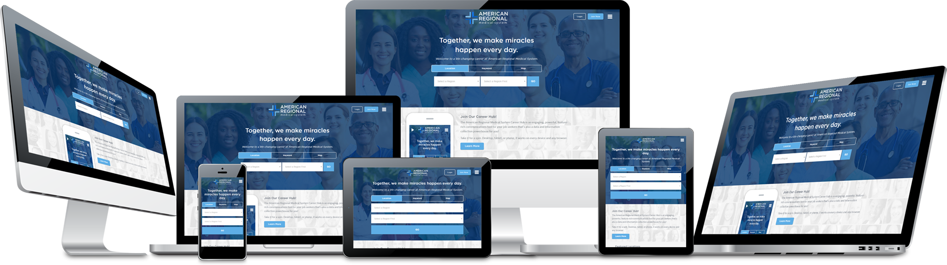 RightJobNow is a completely responsive design system